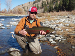 Joe with a nice methow steelhead